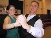 Kimberley & Michael at social dance in 2008