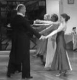 Swing Waltz dance pose